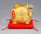★幸福を招く★ 楽しくお目出度い「縁起の置物」【金運招き猫・ガラス玉 貯金箱】
