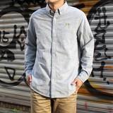 ☆★セール品10%オフ★☆【2016秋冬新作】カラーネップBDシャツ