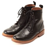 < London shoe make > 【牛革】グットイヤーウエルト製法 メンズ  カントリーブーツ 602
