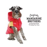 WOODFORD DOWN VEST / ウッドフォードダウンベスト RED 犬服 ドッグウェア