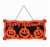 かぼちゃモチーフの装飾品/ドア屋敷の飾り
