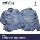 2017 Spring HOUSTON Remake Denim Shirt