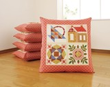 Floor Cushion Cover Country 5 Pcs