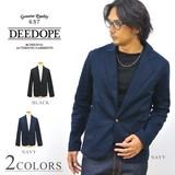 【DEEDOPE】 カツラギストレッチ テーラードジャケット ブレザー