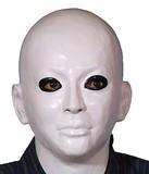 【マスク/かぶりもの】M2 白ぬり<ハロウィン>