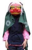 1点販売対応【マスク/かぶりもの】獅子舞セット<ハロウィン>