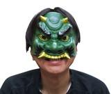 【マスク/かぶりもの】半面マスク 青鬼<ハロウィン>