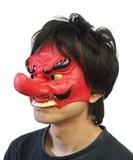 【マスク/かぶりもの】半面マスク 天狗<ハロウィン>