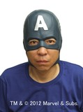 Mask Headgear Captain America Halloween
