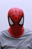 1点販売対応【マスク/かぶりもの】なりきり comic版スパイダーマン<ハロウィン>