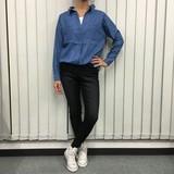【2016AW新作】4.5ozデニムスキッパーシャツ