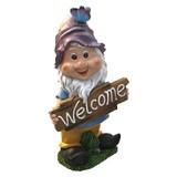 ★歳末SALE特価★【新商品】ワクワク楽しい!YTS雑貨|WELCOME ガーデンオブジェ 7人の小人PU