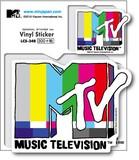 LCS-348/MTVビニールステッカー15