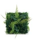 【春夏の花・グリーン】 インテリアアート【アートフレーム】Wall Plants frame