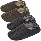 【Knit slippers】ニットスリッパ ネップ(L)