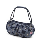 【SAVOY(サボイ)】デニム地に花柄を合わせたバッグ