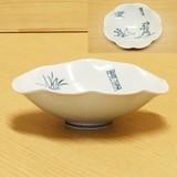高山寺 鳥獣戯画 菊割楕円皿 (鉢)