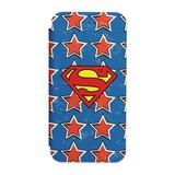 カスタムカバー iPhone 7 フリップ スーパーマン(星)