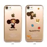 カスタムカバー iPhone 7 チェブラーシカ