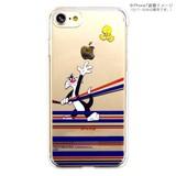 カスタムカバー iPhone 7 ルーニー・テューンズ(ボーダー)
