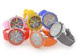 【特価】ビッグフェイス シリコンウォッチ 景品 腕時計 アソート アナログ カラフル