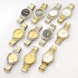 【特価】メンズ メタルウォッチ 景品 腕時計 アソート アナログ シルバー ゴールド