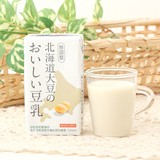 【プレミアム大豆】北海道大豆のおいしい豆乳(無調整)