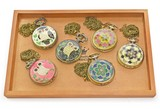【アンティーク 時計】懐中時計ネックレス(大)アソート6種 レトロ ヴィンテージ ふくろう アクセサリー