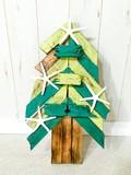 ウッドクリスマスツリー