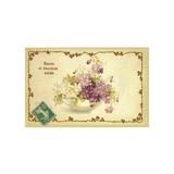 ■ポストカード■ フランス トゥールーズ(ヴィオレット) すみれ ポストカード
