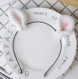 カチューシャ/ヘアピン ウサギの耳に付き