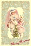 【新商品】Rakka ヴィクトリアン クリスマス ポストカード RVX04