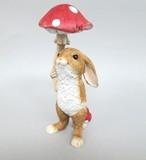 【3月21日から31日まで10%分引きセール!】【レジン製 ラビット】アンブレラ ウサギ雑貨