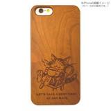 木製iPhone 6s/6ケース 猫のダヤン(ティータイム)