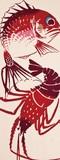 【日本製】 注染 手ぬぐい 鯛と伊勢海老【和布華】【正月】