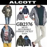 ◆お買い得秋冬商材◆★大特価★ALCOTT アルコット メンズ リバーシブル 薄手 中綿ジャケット