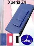 【Xperia Z4】CASEBANKイチオシ人気アイテム 大人カワイイリボン手帳型ケース【スマホケース】