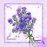 Paper Napkin Lavender