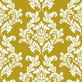 Paper Napkin Pattern Gold White