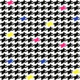 Maki  ペーパーナプキン ハウンドトゥース 格子縞