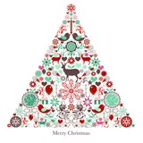 Paper Napkin Christmas Tree
