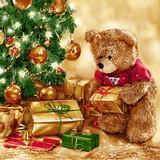 Maki  ペーパーナプキン クリスマス クマ・ツリー