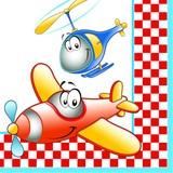 Daisy  ペーパーナプキン 飛行機・ヘリコプター