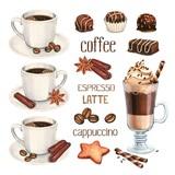 Daisy  ペーパーナプキン コーヒー・チョコレート