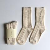 あしごろも リンクス編み靴下