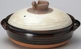 在庫あるだけ!■【耐熱陶器】光泉粉引6号土鍋