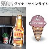 ■2016AW 新作■ ダイナー サインライト アイスクリーム