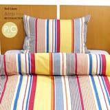 【アルコ】 枕カバー 単品 43x63 cm 綿 ストライプ 日本製