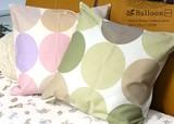 クッションカバー【バルーン-癒し】45x45 全2色 綿 日本製