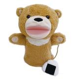 【■Original Soft Toy】 もぐもぐパペット クマ